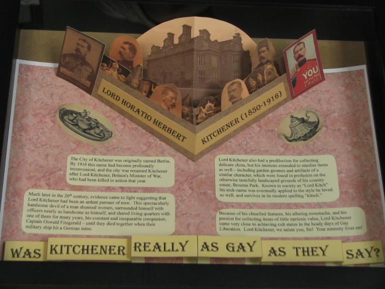 PopUp Display - Lord Kitchener